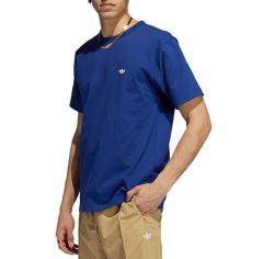 Adidas Originals Heavyweight Shmoofoil T-Shirt Victory Blue / White