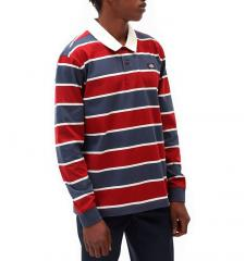 Dickies Oakhaven Rugby Long Sleeve T-Shirt Navy Blue
