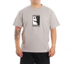 Polar Skate Co. Anything Good? Tee Silver Grey