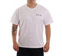 Polar Skate Co. Fill Logo Tee White