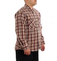 Polar Skate Co. Flannel Shirt Brown