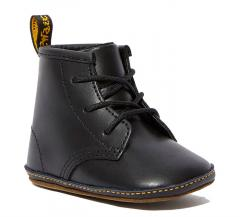 Dr. Martens 1460 Crib Baby Leather Booties Black