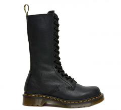 Dr Martens 1B99 High Leather Boots Black Virginia