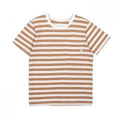 Makia Kids Verkstad T-Shirt Camel / White