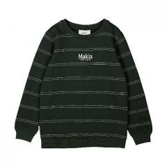 Makia Kids Aatos Sweatshirt Dark Green