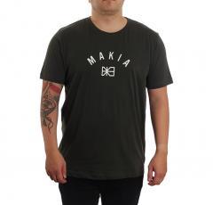 Makia Brand T-Shirt Dark Green