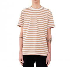 Makia Verkstad T-Shirt Camel / White