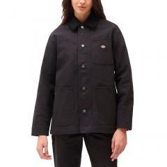 Dickies Womens Duck Canvas Chore Coat Black