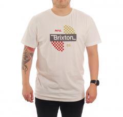 Brixton Panic T-Shirt Off White