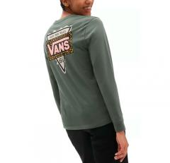 Vans Womens First Stitches Long Sleeve T-Shirt Thyme