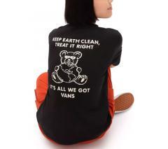 Vans Womens Bossy Bear T-Shirt Black