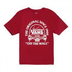 Vans Youth Original Grind T-Shirt Pomegranate