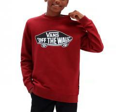 Vans Youth OTW Crew Sweater Pomegranate