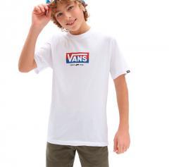 Vans Youth Easy Logo T-Shirt White
