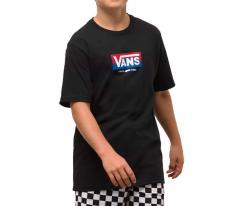 Vans Youth Easy Logo T-Shirt Black
