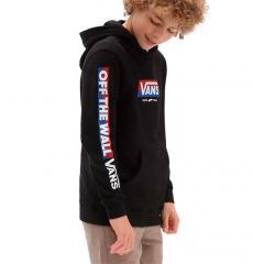 Vans Youth Easy Logo Pullover Hoodie Black