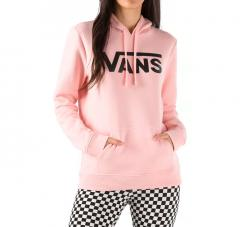 Vans Womens Classic V II Hoodie Powder Pink