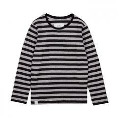 Makia Kids Verkstad Long Sleeve Grey / Black