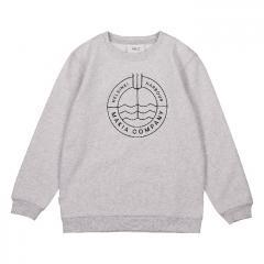 Makia Kids Trident Sweatshirt Light Grey