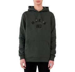 Makia Brand Hooded Sweatshirt Dark Green