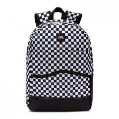 Vans Construct Skool Backpack Black / White Check