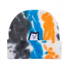 Ripndip Lord Nermal Beanie Blue / Orange Tie Dye