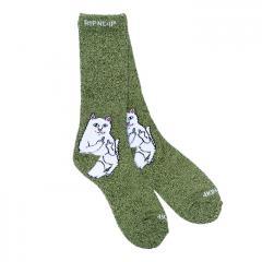 Ripndip Lord Nermal Sock Green / Grey Speckle