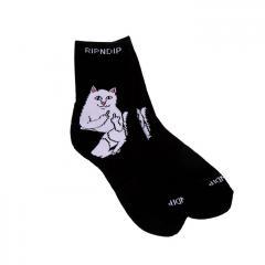 Ripndip Lord Nermal Mid Sock Black